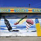 Vintage beach food by David Lee Thompson