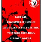 No-Kill United - ES EACH DAY (PRINT) by Anthony Trott