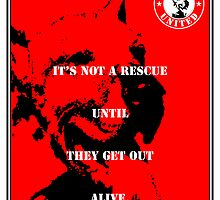 No-Kill United - ES GET OUT ALIVE (PRINT) by Anthony Trott