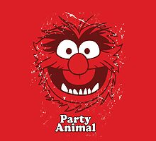 PARTY ANIMAL iPhone cover by marinasinger