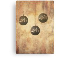 It´s Raining Love Canvas Print