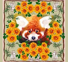 Red Panda by Ro London