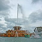 Buckingham Fountain by derejeb