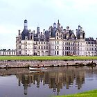 Chambord castle, France by magicaltrails