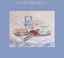 Vintage Tea Birthday by Patsy Smiles
