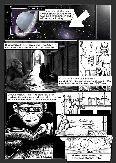 The Last Octochimp - page 2 by Octochimp Designs