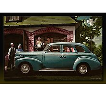 The Brand New 1945 Chevy Photographic Print