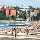 Manly Beach by Ross Campbell