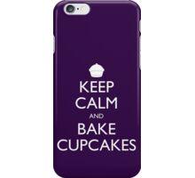 Keep Calm and Bake Cupcakes iPhone Case/Skin