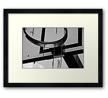 Basket Frame Framed Print