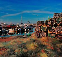 Poole Harbour Old Nets And Pots by delros