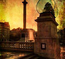 Trafalgar Square, London by tonybill