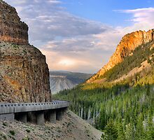 Golden Gate of Yellowstone by JimGuy