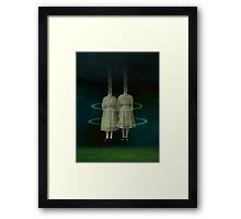 Twilight Sisters Framed Print