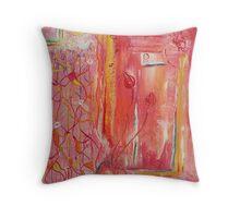 Aura of Spring Throw Pillow