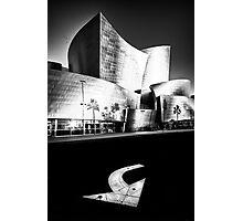 on the edge of Hope Street....(Walt Disney Concert Theater, Los Angeles, CA, USA.) Photographic Print