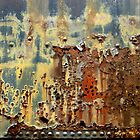 Box Car Grunge by Elaine Bawden