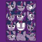 Emotions of Twilight Sparkle by RoughBacon