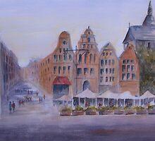 City Square, Rostock, Germany by bevmorgan