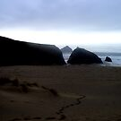 Holywell Bay - My Backwards Walk by Emma Bolt