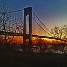 Verrazano - Narrows Bridge - New York City by michael6076