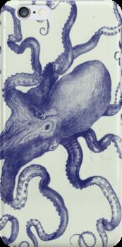 vintage octopus iphone by jashumbert