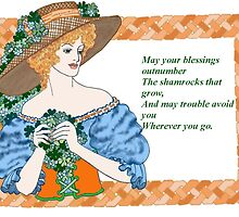 Irish Blessing by redqueenself
