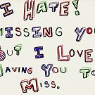 Miss You by Kerri Swayze