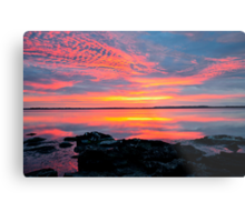 30 minutes before sunrise. 27-2-12. Metal Print