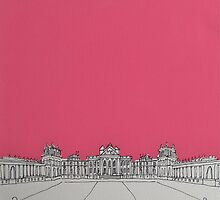 Blenheim In The Pink by Adam Regester