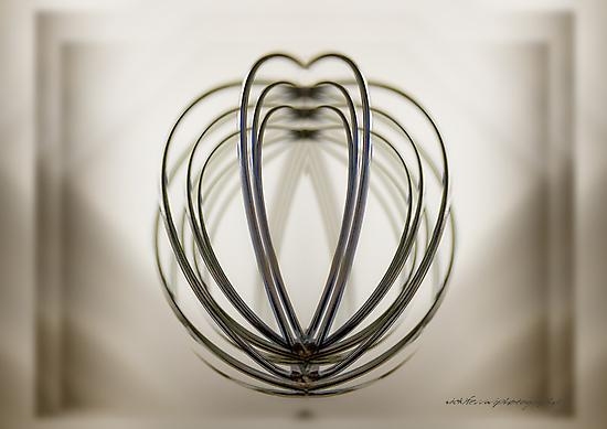 Skeletal Heart Squared © Vicki Ferrari Photography by Vicki Ferrari