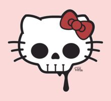 Skull Kitty by Captain RibMan