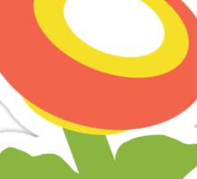 Fire Flower Cafe - Remix Sticker