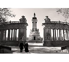 Monument to Alfonso XII Photographic Print