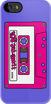 I love the 80's - pink tape by eZonkey