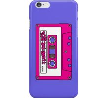 I love the 80's - pink tape iPhone Case/Skin