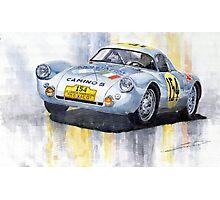 Porsche 550 Coupe #154 Carrera Panamericana 1953 Photographic Print