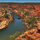 Kalbarri Gorge by Eve Parry