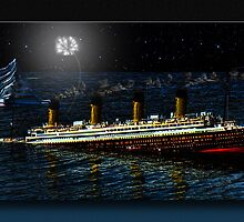 SHIT! ( Captain Smith RMS Titanic) by Richard  Gerhard