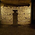 paris catacombs by TheLostArt