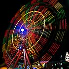 Ferris Wheel in Motion - Luna Park, Sydney by TonyCrehan