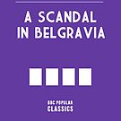 BBC Sherlock - A Scandal in Belgravia Minimalist by ofalexandra