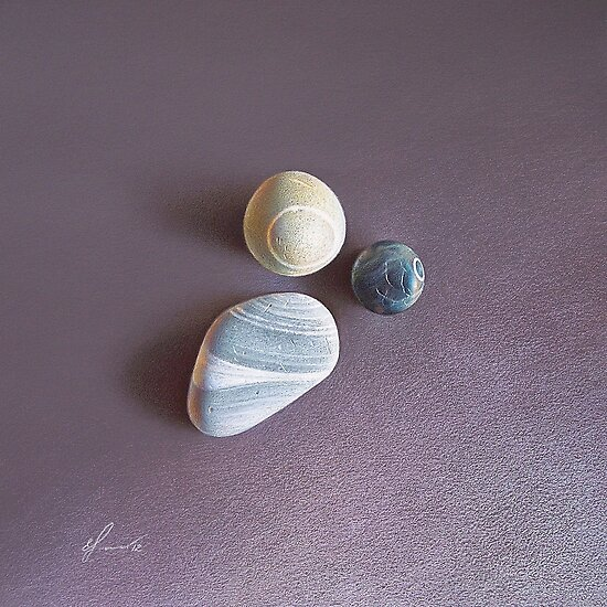 """Lines & circles"" by Elena Kolotusha"