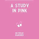 BBC Sherlock - A Study in Pink Minimalist by ofalexandra