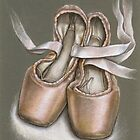 Pointe shoes by tanyabond