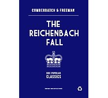 BBC Sherlock - The Reichenbach Fall Minimalist Photographic Print