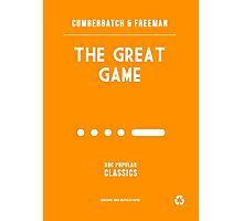 BBC Sherlock - The Great Game Minimalist Photographic Print