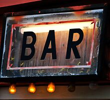 Bar Sign by Diego  Re