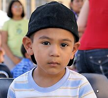 Boy in Ball Cap RO by Slaughter58