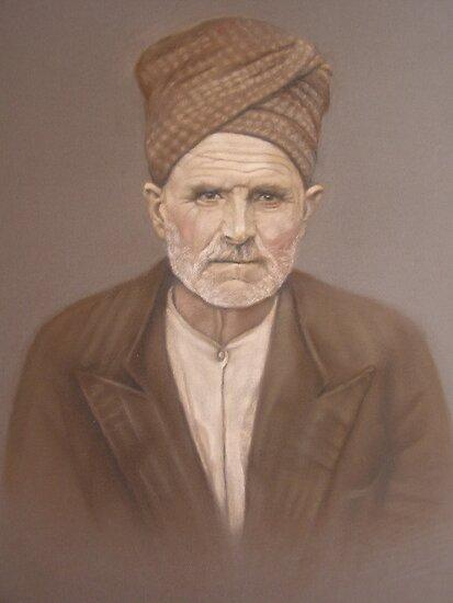 Old Bosnian man by sejramic